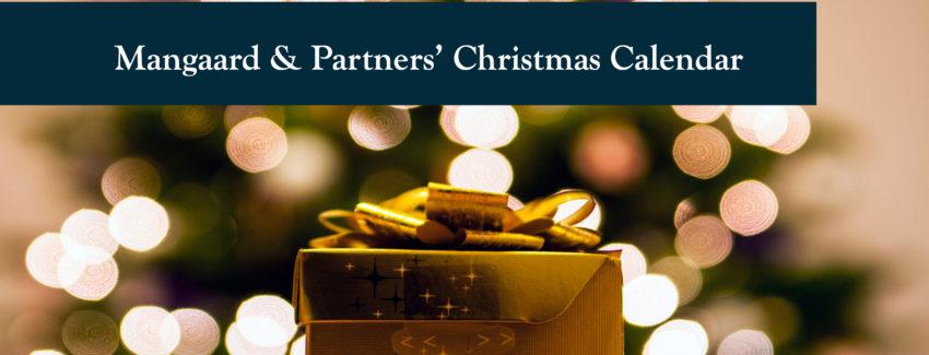 Mangaard & Partners' Christmas Calendar